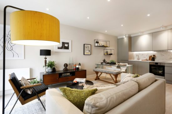 Property staging London Chiswick W4